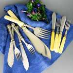 Fish cutlery & cutlery parts
