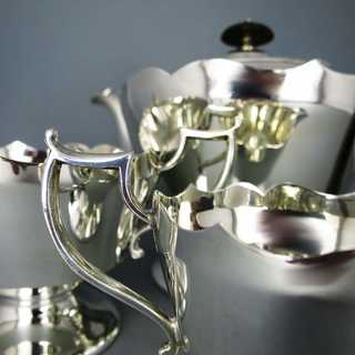 Elegant tea set