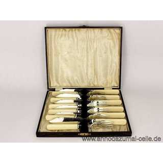 Fisch cutlery set for 6 persons with original box