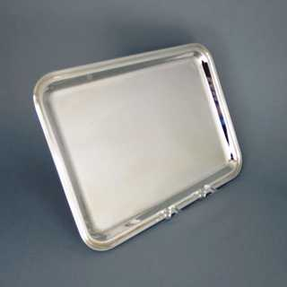 Rectangular 800 silver tray