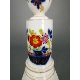Porcelain candlestick india tree Meissen 1820