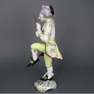 Porcelain figure The composer Thuringia Volkstedt