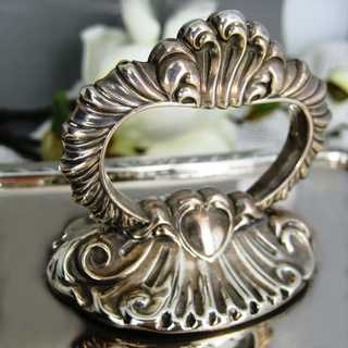 Silver plated warming serving dish