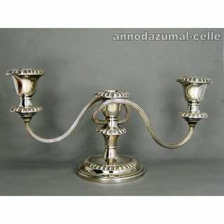 Antique 3 lights candle holder