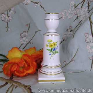 Meissen Porcelain candle-holder with flowers