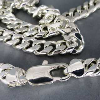 Heavy tank chain in sterling silver