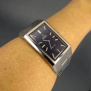 Collectors item: Omega De Ville automatic wristwatch for men in stainless steel