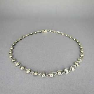 Elegant handmade Art Deco silver collier necklace from Germany