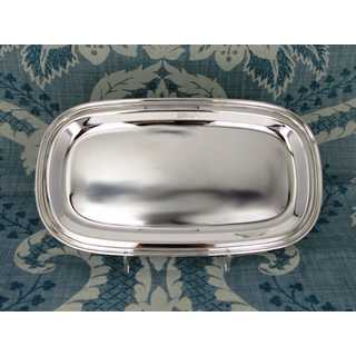 Small silver tray from Italy