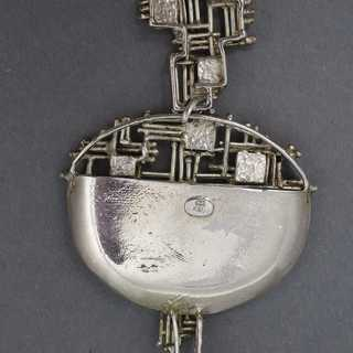 A unique necklace pendant created by Kordes and Lichtenfels around 1950