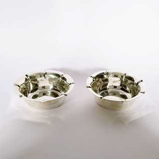 Pair of rare nutshells from England in sterling silver 925 / -