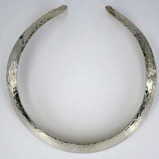 High quality choker made of silver by Franz Scheurle (Quinn) around 1970