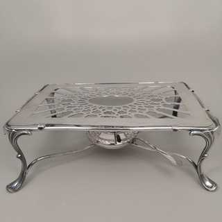 Antique food warmer in solid silver 925 / - from Hanover