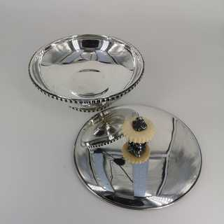Silver candy dish from the 1930s